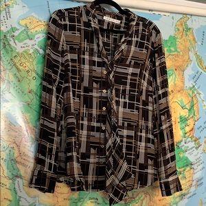 Trina Turk vintage silk blouse
